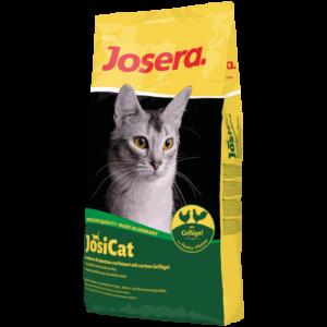 عبوة دراي فود جوزيرا للقطط بطعم الفراخ 18 كيلو جرام بسعر 640 جنيه مصري Josera JosiCat Poultry
